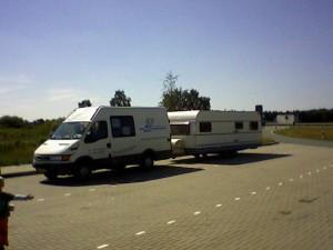bus en caravan